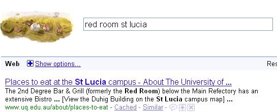 Red Room St Lucia search